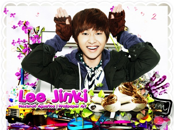 lee jinki onew shinee wallpaper