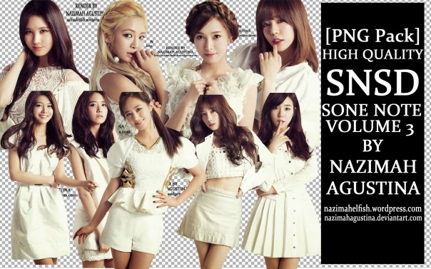 preview png pack snsd girls' generation sone note volume 3 2014 japan concert love and peace by nazimah agustina