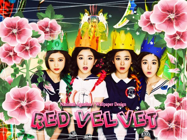 red velvet images teaser new girl group sm entertaiment 2014 debut flowers roar
