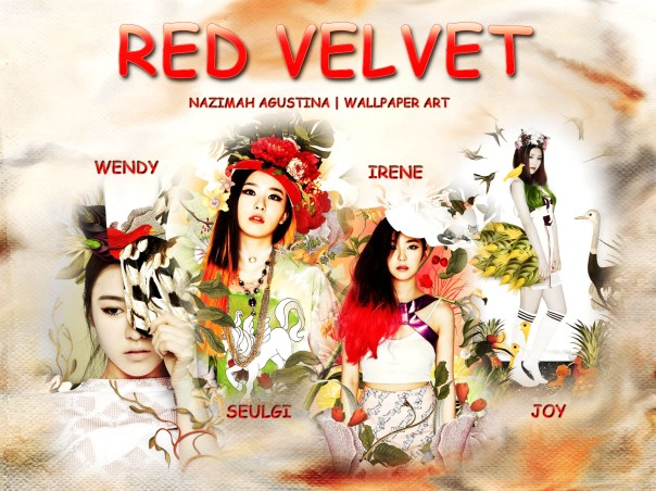RED VELVET kim seulgi irene wendy joy plants themes new gb wallpaper