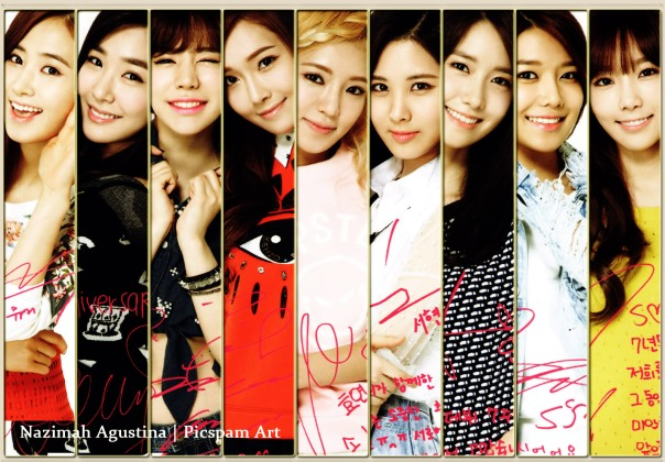 SNSD 7th Debut party Picspam by Nazimah Agustina