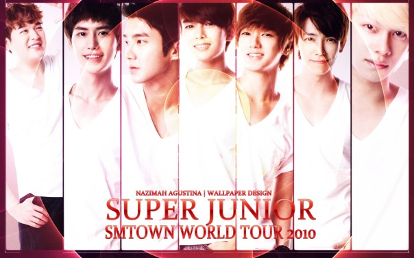 SUPER JUNIOR FOR PHOTOS TEASER SMTOWN WORLD TOUR CONCERT 2010 WALLPAPER