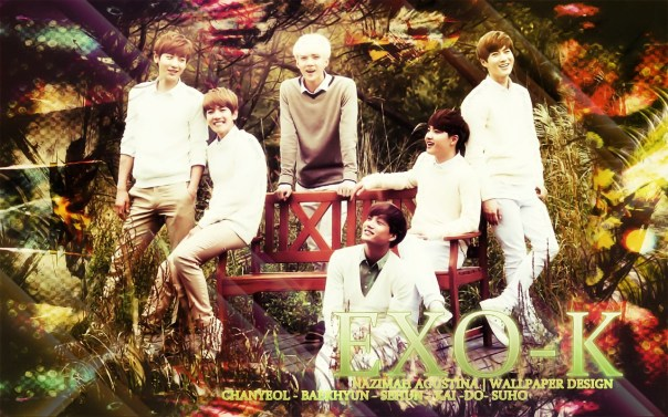exo-k nature republic kim joonmyeon park chanyeol oh sehoon do kyungsoo byun baekhyun kim jongin happy sweet innocent boys