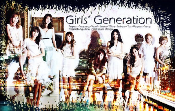 gg girls generation power of nine seohyun taeyeon yoona yuri tiffany hyoyeon sooyoung jessica sunny wallpaper elegant 2014