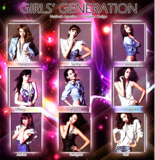girls generation concert japan wallpaper by nazimah agustina snsd sjjd album yoona yuri taeyeon seohyun sooyoung sunny tiffany hyoyeon lighting purple