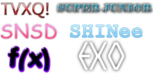 SMTOWN GROUPS STYLES BY NAZIMAH AGUSTINA
