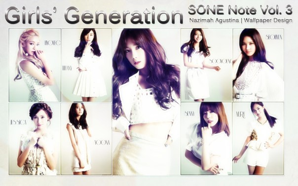 snsd sone note volume 3 picspam kim taeyeon scandal baekyeon we love by nazimah agustina