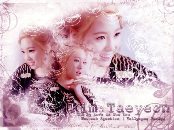 snsd taeyeon 2014 wallpaper mv all my love is for you vintage naturally pretty innocent