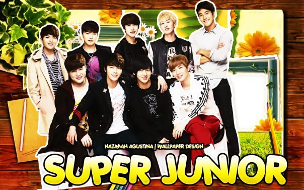 super junior cute spao wallpaper flowers scrapbook donghae leeteuk kyuhyun shindong siwon yesung ryeowook eunhyuk
