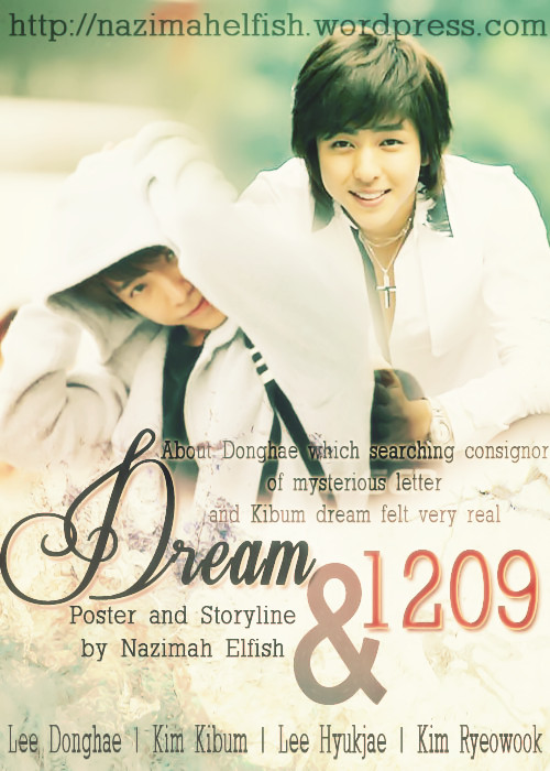 dream and 1209 cover fanfic kihae about lee donghae seeking sender mysterious letter and kim kibum dream felt very real