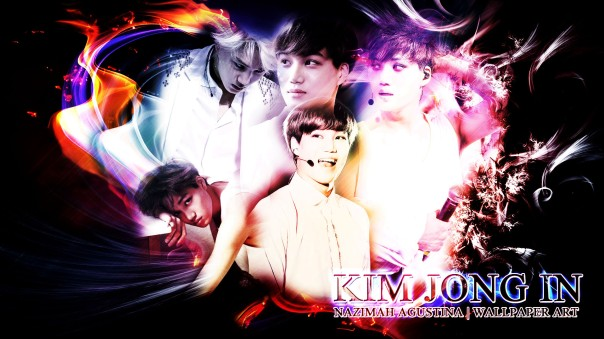 exo KAI KIM JONGIN sexy dance machine visual face ofthe group drama abstract wallpaper new by nazimah agustina