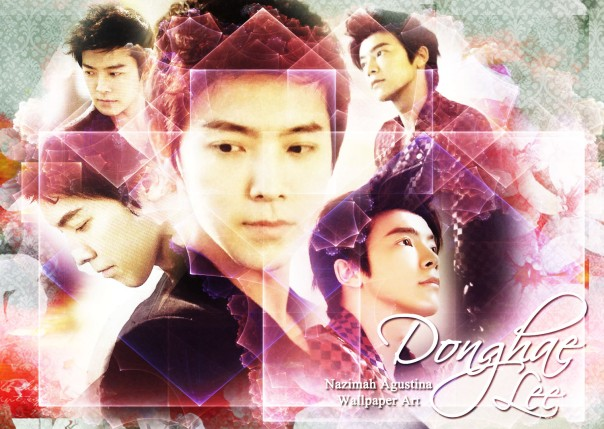 happy 29th lee donghae super junior wallpaper 15 october 2014 soft abstract by nazimah agustina