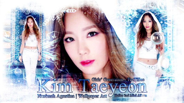 holler taeyeon snsd 2014 mini album wallpaper by nazimah agustina