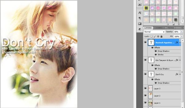 how to make poster using photoshop
