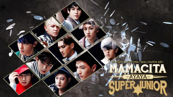 SUPER JUNIOR MAMACITA COMEBACK 7JIB WALLPAPER BY NAZIMAH