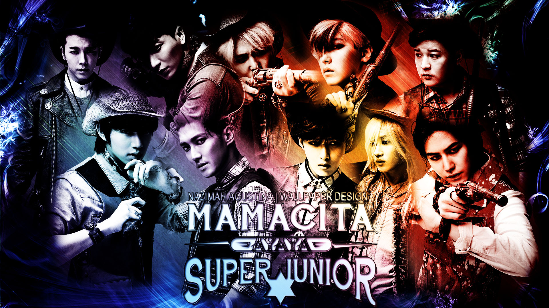 Wallpapers] Happy 9th Anniversary Super Junior