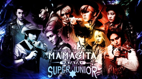 SUPER JUNIOR MAMACITA WALLPAPER BY NAZIMAH AGUSTINA