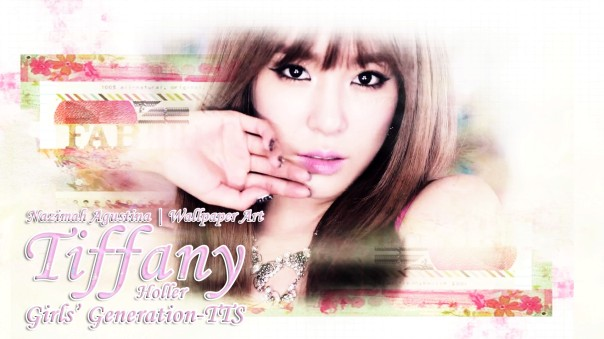 tiffany hwang tts snsd holler mv wallpaper by nazimah agustina