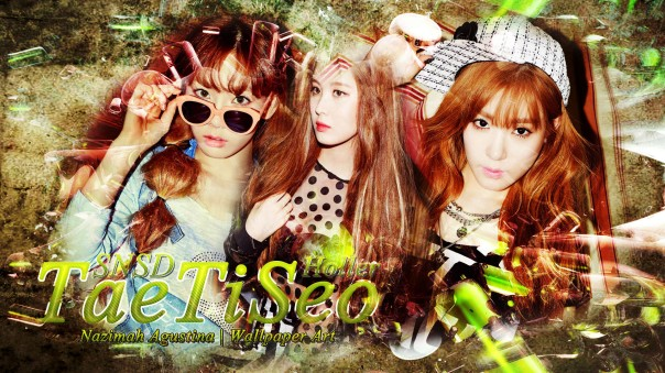 tts snsd taetiseo taeyeon tiffany seohyun holler 2nd mini album teaser photos wallpaper by nazimah