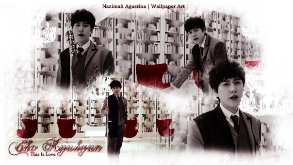 cho kyuhyun this is love wallpaper handsome visual main vocal debut solo 2014 by nazimah