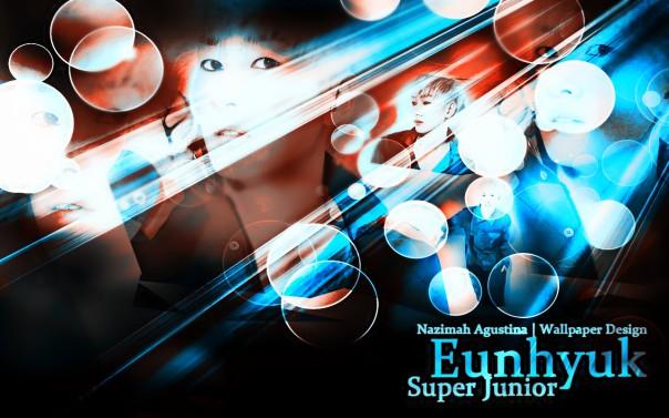 eunhyuk supaer junior abstract lee hyukjae wallpaper by nazimah elfish