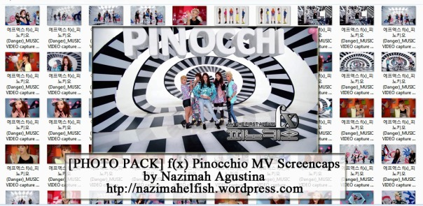 [Photo Pack] f(x) for Danger (Pinocchio) MV Screencaps by Nazimah Agustina