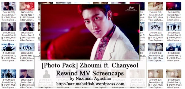 [photo pack] zhoumi ft chanyeol rewind mv screencaps by nazimah agustina