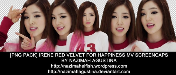 png pack irene red velvet for happiness music video screencaps by nazimah agustina