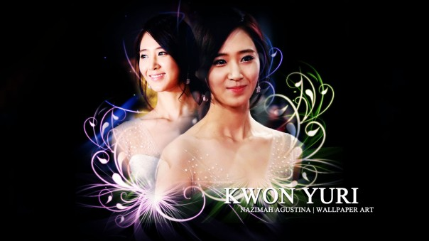 [psd stock] snsd yuri simple wall by nazimah agustina copy