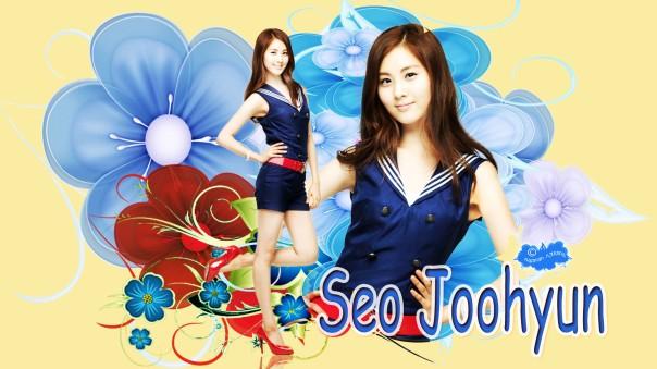 seo joohyun seohyun snsd flower yellow
