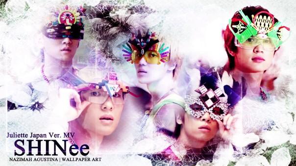 shinee juliette japan ver mv wallpaper by nazimah agustina onew jonghyun taemin minho key