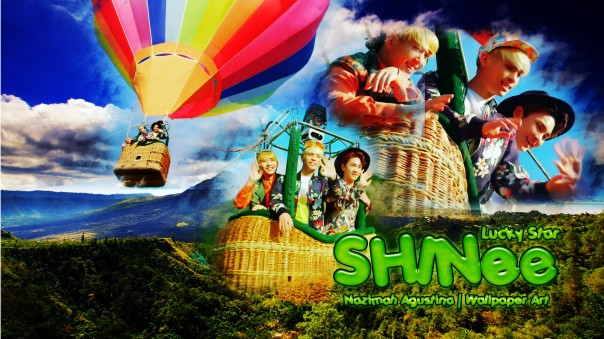 shinee lucky star wallpaper japanese single onew jonghyun key minho taemin by nazimah agustina