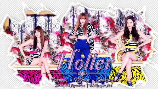 snsd tatiseo kim taeyeon tiffany hwang seo joohyun wallpaper holler 2nd mini album by nazimah agustina
