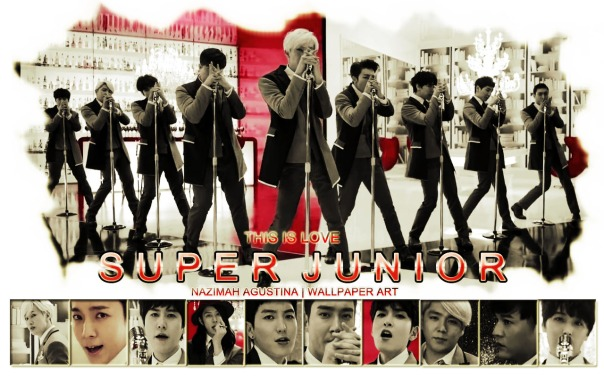 SUJU THISIS LOVE mv capture repackage album november jazz good nice awesome by nazmah elfish wallpaper art