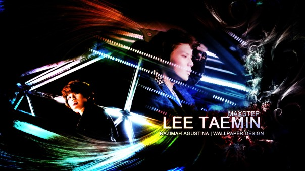 TAEMIN MAXSTEP younique sub unit mv shinee wallpaper drama graphic romantic by nazimah agustina