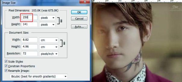 tutorial how to make picspam art using photoshop tvxq dbsk u-know yunho max changmin homin by nazimah agustina 6