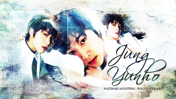 u-know yunho tvxq! wallpaper by nazimah agustina white light blue handsome leader korean pop
