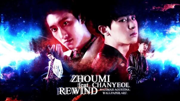 zhoumi super junior-m feat chanyeol exo rewind debut solo mv