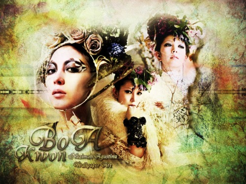 boa kwon diva korean beat of angel wallpaper by nazimah agustna