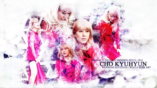 cho kyuhyun sm boys day on smtown concert seoul 2014 wallpaper by nazimah agustina