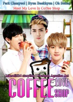 coffee love shop park chanyeol byun baekhyun oh sehun lovely exo yaoi boyslove cover fanfic friendship