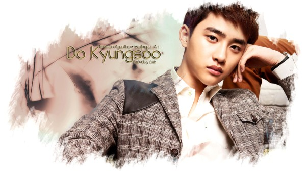 do kyungsoo ivy club exo wallpaper brown