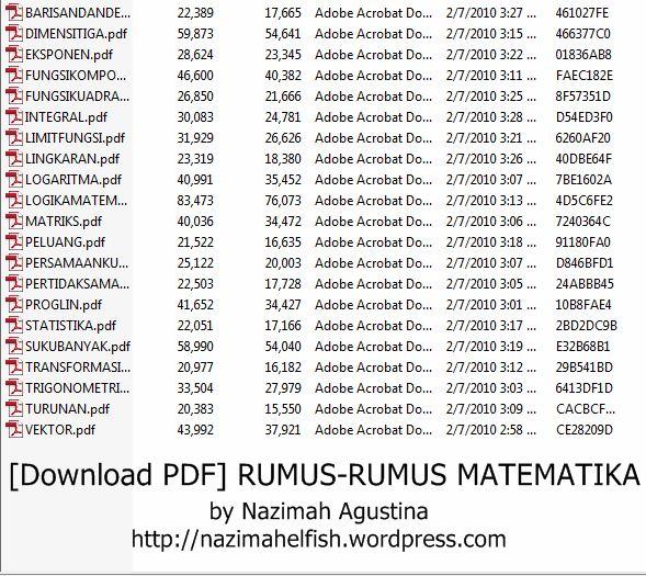 Download Pdf File Rumus Rumus Matematika Smk Kejuruan Agustinazimah Experience