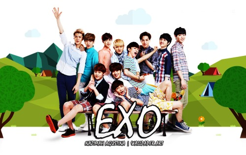 EXO 0T11 cf nature wallpaper fresh