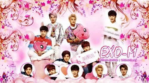EXO-M wallpaper valentine omantic wallpaper ot6
