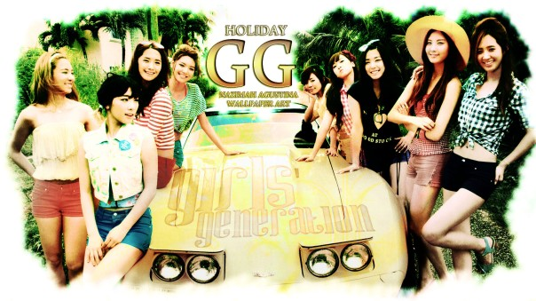 GG holiday WALLPAPER by nazimah agustina snsd japan