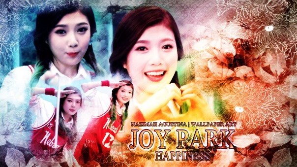 joy park happiness red velvet debut music video green maknae wallpaper by nazimah agustna