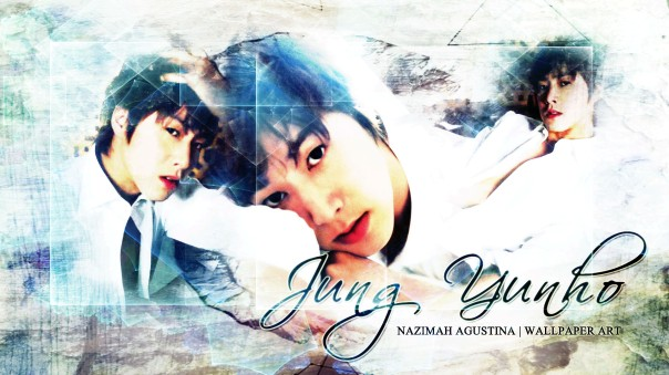 JUNG YUNHO u-know tvxq dbsk wallpaper white bright by nazimah agustina wallpaper