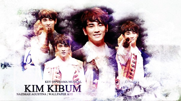 KEY KIBUM kim shinee drama musical soft calm bright wallpaper by nazimah agustina