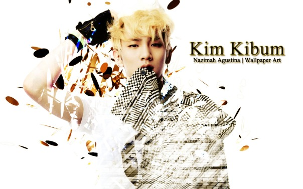 kim kibum key shinee simple wallpaper by nazimah agustina